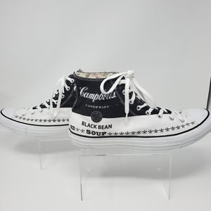 Converse Shoes - Andy Warhol Black Bean Converse